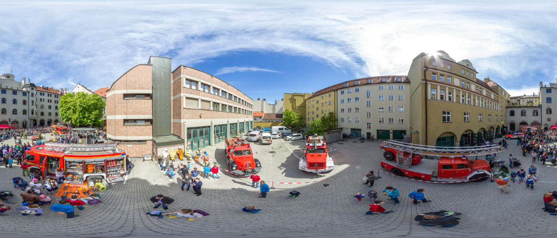 Tag der offenen Tür der Feuerwehr München